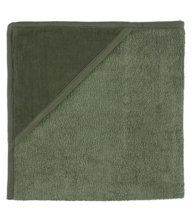 Trixie Hooded towel - Ribble Moss