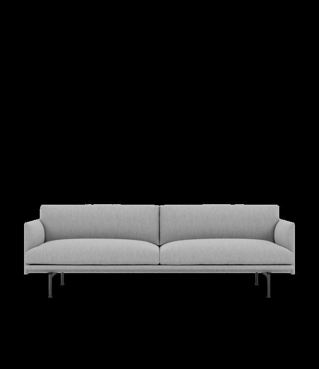 Muuto Outline sofa - 3 zit