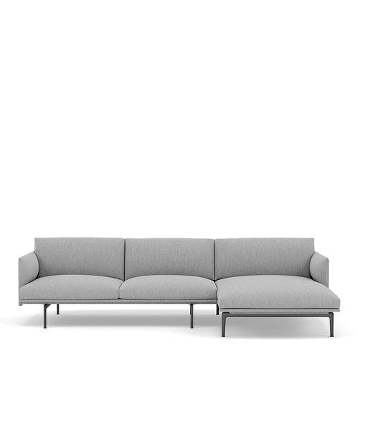 Muuto Outline sofa met chaise longue