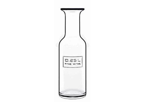 Luigi Bormioli Karaf 0,25 Liter Fine Wine Optima ( Set van 12 )