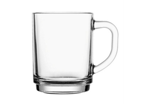 Koffie-/ Theeglas 25cl Stapelo Budgetline ( Set van 6 )