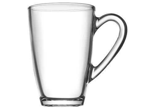 Koffie-/ Theeglas 33cl Aqau ( Set van 2 )