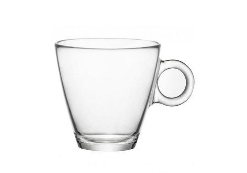 Koffie -/Theeglas 23cl Easy Bar ( Set van 12 )