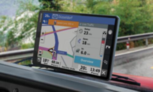 Nieuwe GARMIN Trucknavigatie heeft extra groot scherm