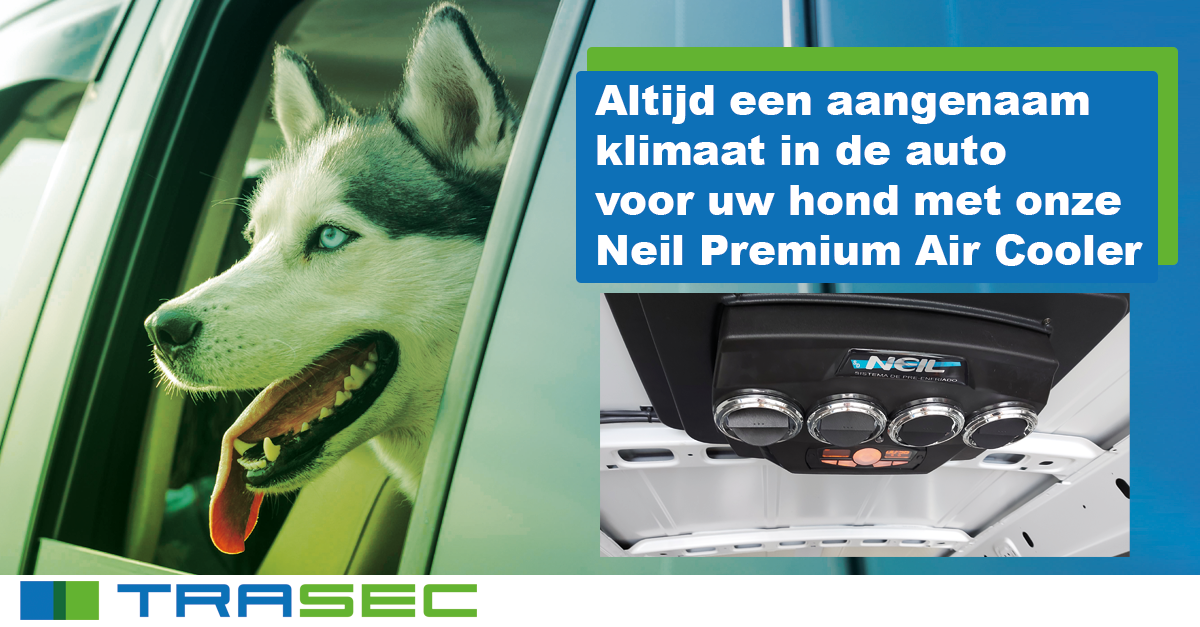 Nieuw: Hondenauto koeling