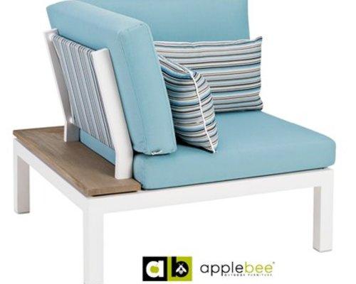 Apple Bee | Pebble Beach Blauw | Corner