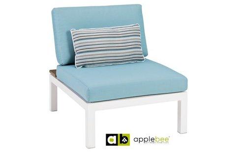 AppleBee tuinmeubelen Apple Bee | Pebble Beach Blauw | tussenmodule