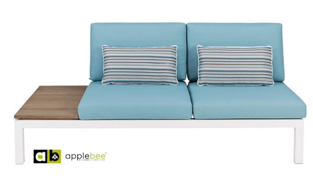Apple Bee | Pebble Beach Blauw | twee-zits rechts