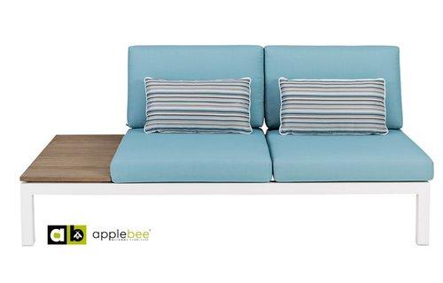 AppleBee tuinmeubelen Apple Bee | Pebble Beach Blauw | twee-zits rechts