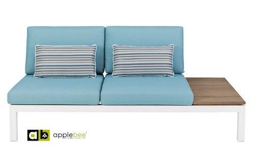 AppleBee tuinmeubelen Apple Bee | Pebble Beach Blauw | twee-zits links