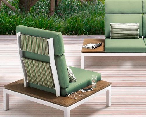Apple Bee | Pebble Beach forest breeze| Verhoging rugleuning