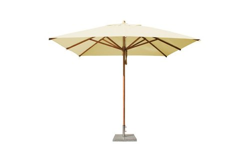 Bambrella Parasol Levante | 3x3 meter | ecru | Spuncrylic