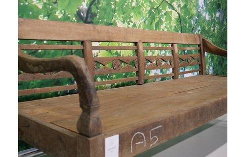 Garden Teak Stationsbank Javaans | Antiek Teak | A5