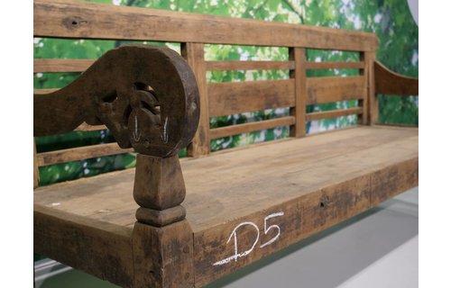 Garden Teak Stationsbank Javaans | D5