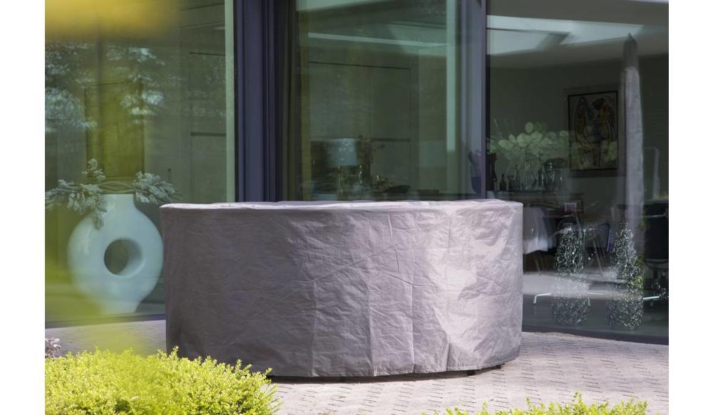 Premium beschermhoes ronde tuinset tot Ø 200 cm tafel
