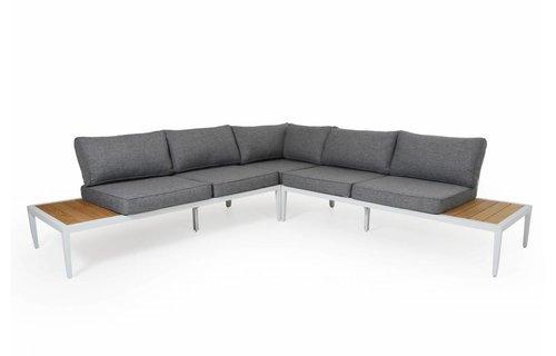 Brafab Whistler loungeset | Mat Wit | Set 1