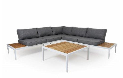 Brafab Whistler loungeset | Mat Wit | Set 2