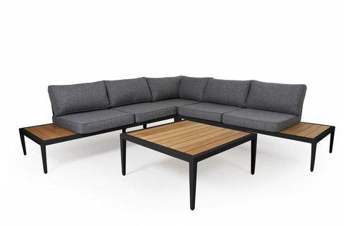 Brafab Whistler loungeset | Mat Zwart | Set 2