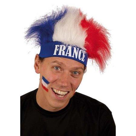Haarband + pruik Frankrijk