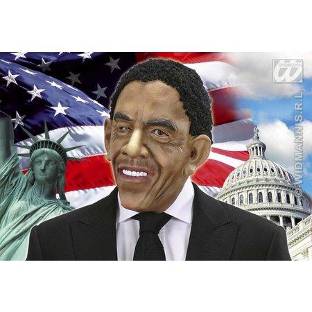 Masker met pruik president