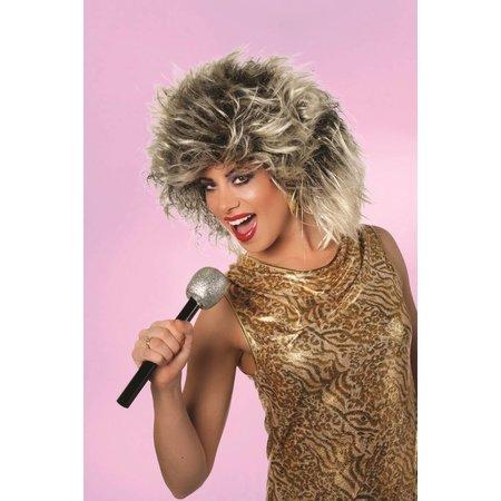 Pruik disco Tina