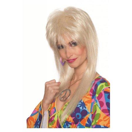Pruik Blondy 70's