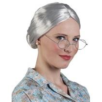 Granny/Oma pruik