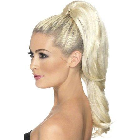 Hair extensions op clip blond