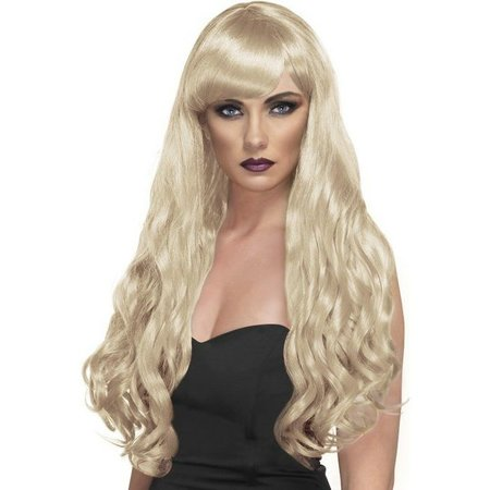 Desire pruik lang blond
