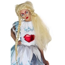 Duistere Alice in Wonderland pruik