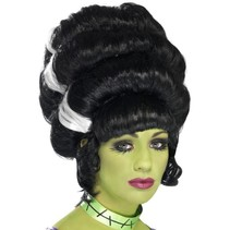 Frankenstein bruid pruik