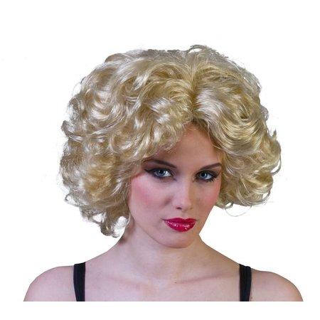 Pruik blond Marilyn Monroe
