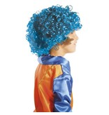 Pieten Pruik Turquoise