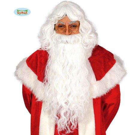 Kerstman Baard + Pruik
