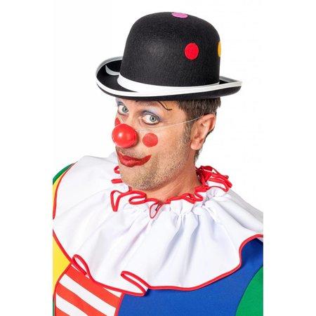 Bolhoed Clown met noppen zwart