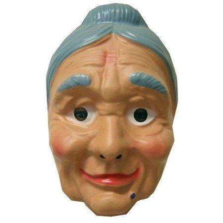 Masker Oma + knotje plastic