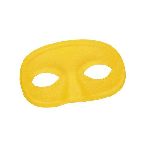 Oogmasker loup geel