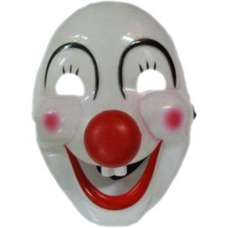 Masker Clown wit