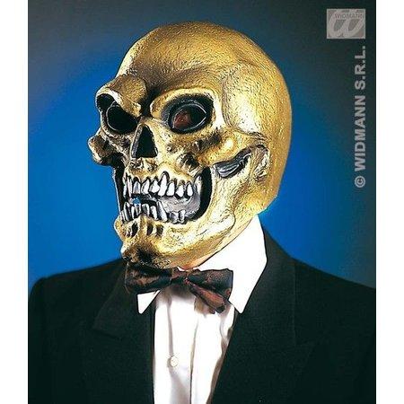 Masker Schedel goud