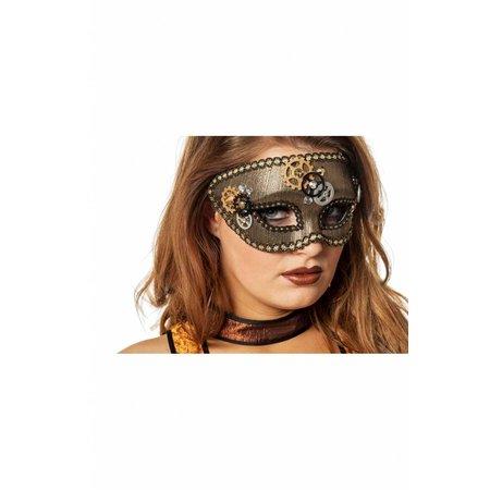 Masker Steampunk tandwielen