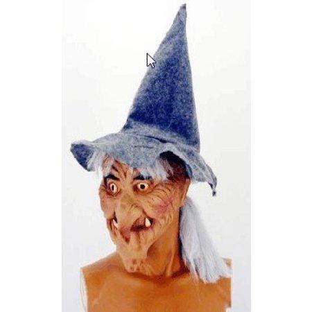 Masker heks vrouw met haar