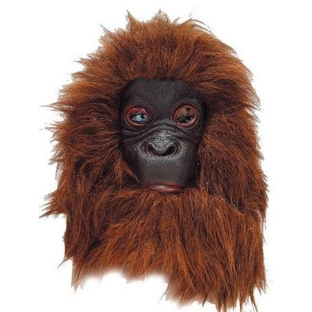 Masker Chimpansee latex