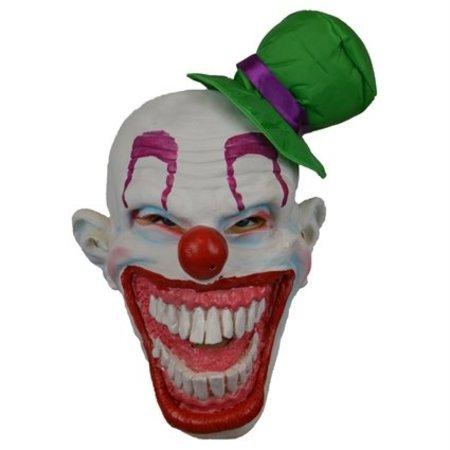 Masker Clown met groen hoedje