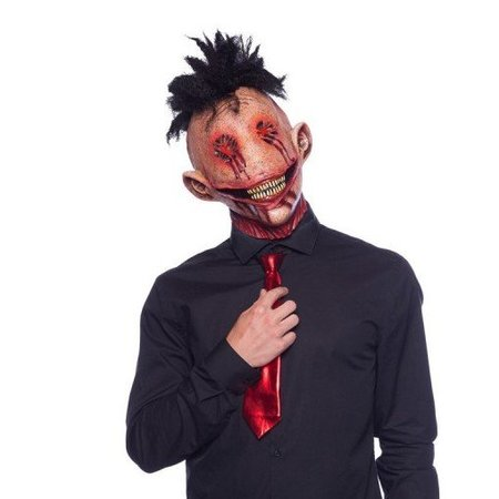 Demon Masker Hanekam Latex Halloween