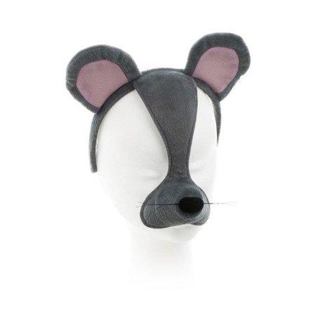 Dierenmasker Muis met geluid