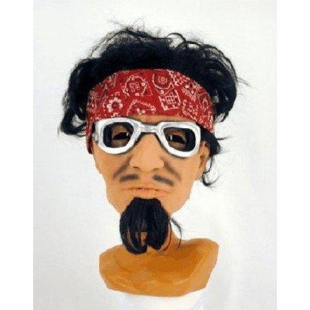 Masker met haar Rock/Hippy