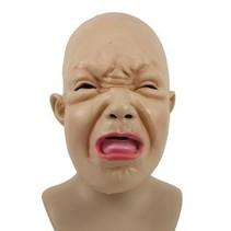 Masker huilende griezel baby