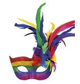 Oogmasker Venice arcobaleno
