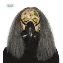 Gasmasker horror met haar