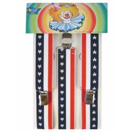 Bretels Amerika Stars & Stripes
